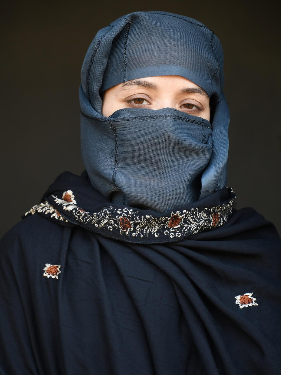 Karima Sultani has been an activist for women's rights in Afghanistan since 2010. She now works as a counsellor for the International Rescue Committee, supporting women who are experiencing violence.