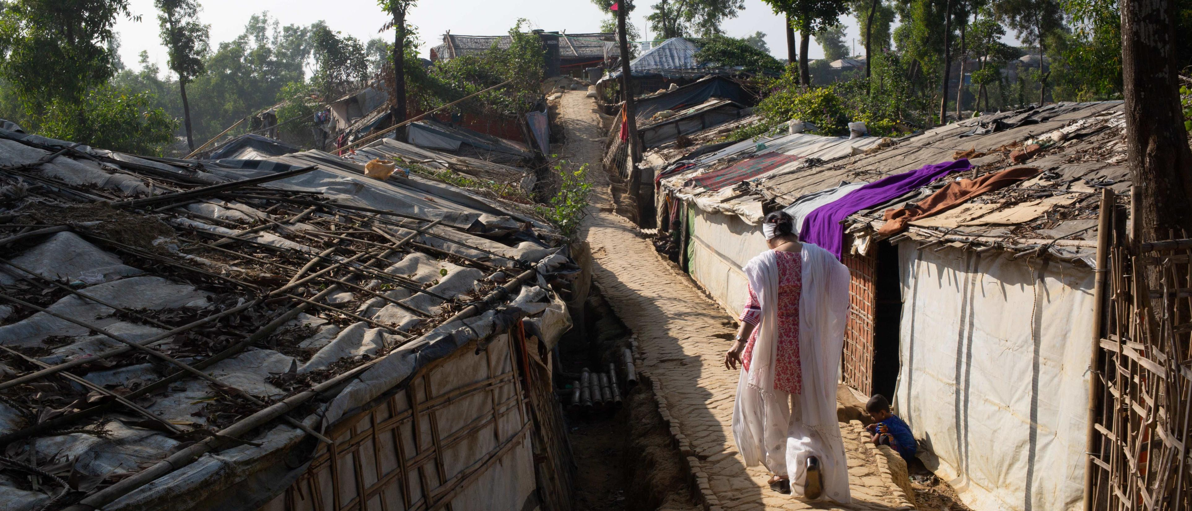 Razia has documented thousands of accounts from Rohingya women about what they'd been through.